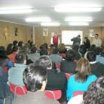 Participantes de la charla.