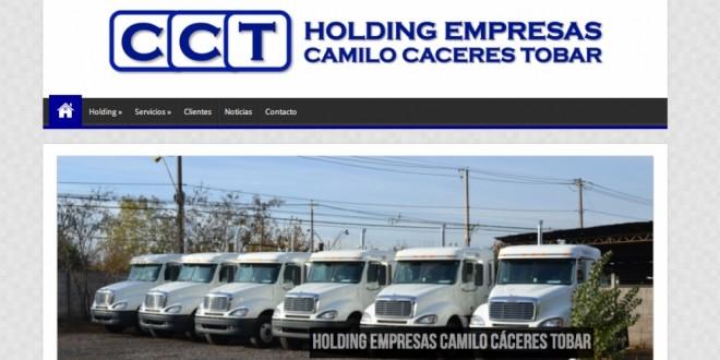 Holding CCT presenta su nueva página WEB